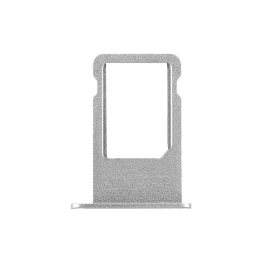 Sim Card Tray for iPhone 6 plus   Silver - (OEM)