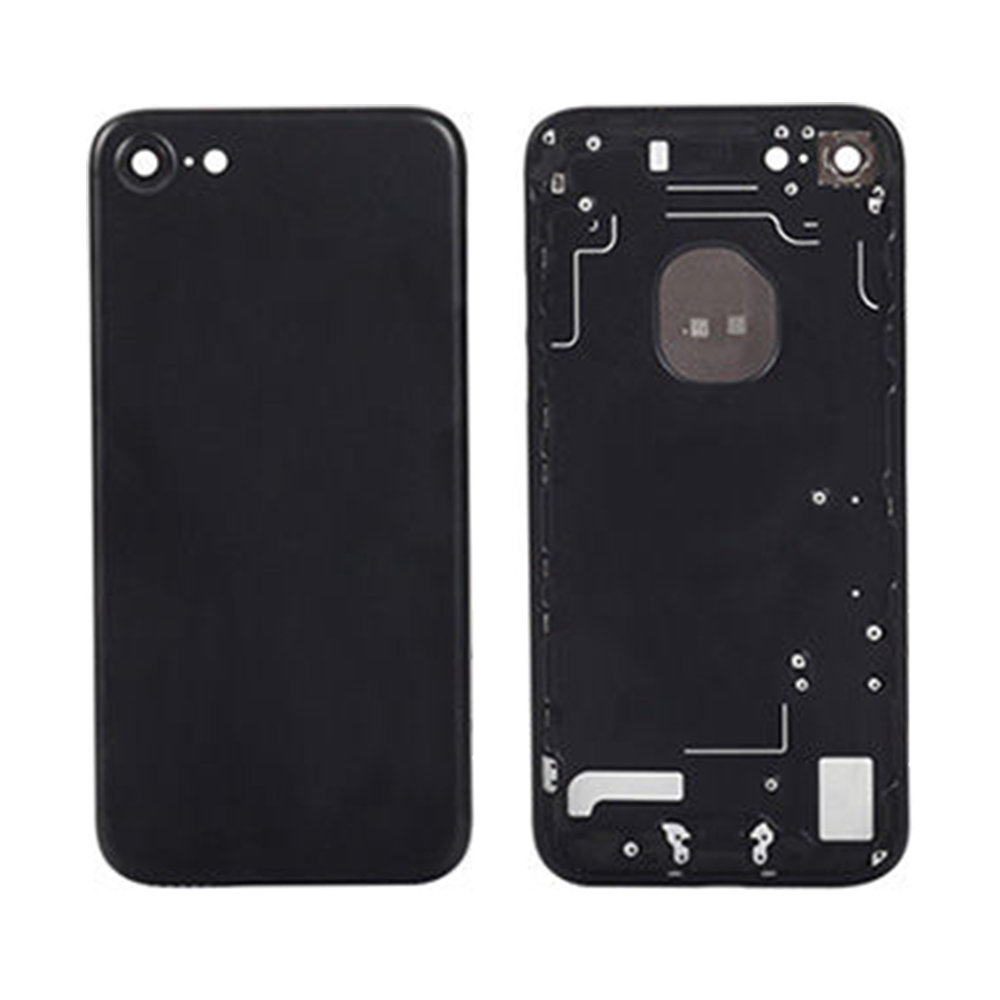 iPhone 7 Plus Rear Housing Matte Black - OEM Pull
