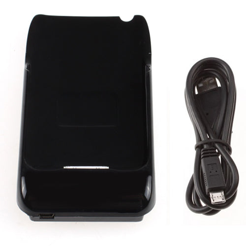 External Battery Charger Power Pack 1800mAh Case for iPhone 3G 3GS Black