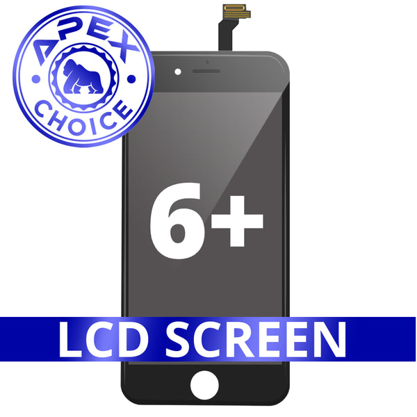 LCD and Touch Screen Digitizer for iPhone 6 Plus - Black (APEX Choice)