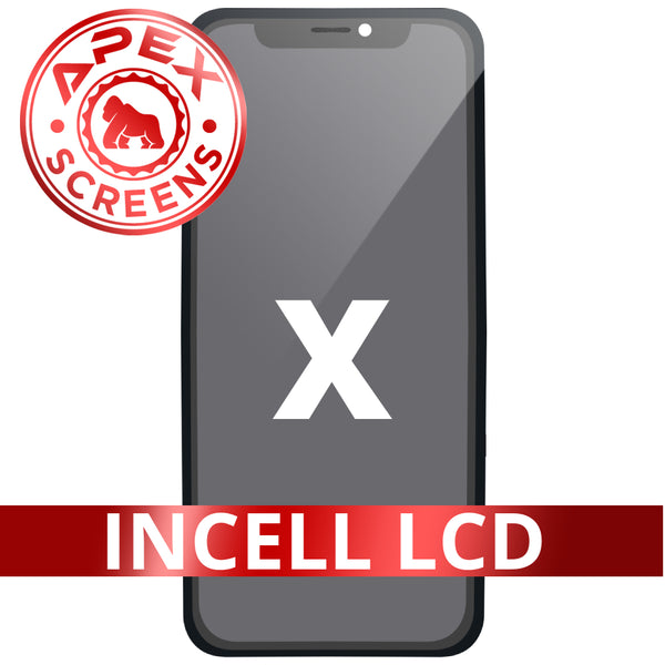 Incell LCD and Touch Screen Digitizer for iPhone X - (APEX)