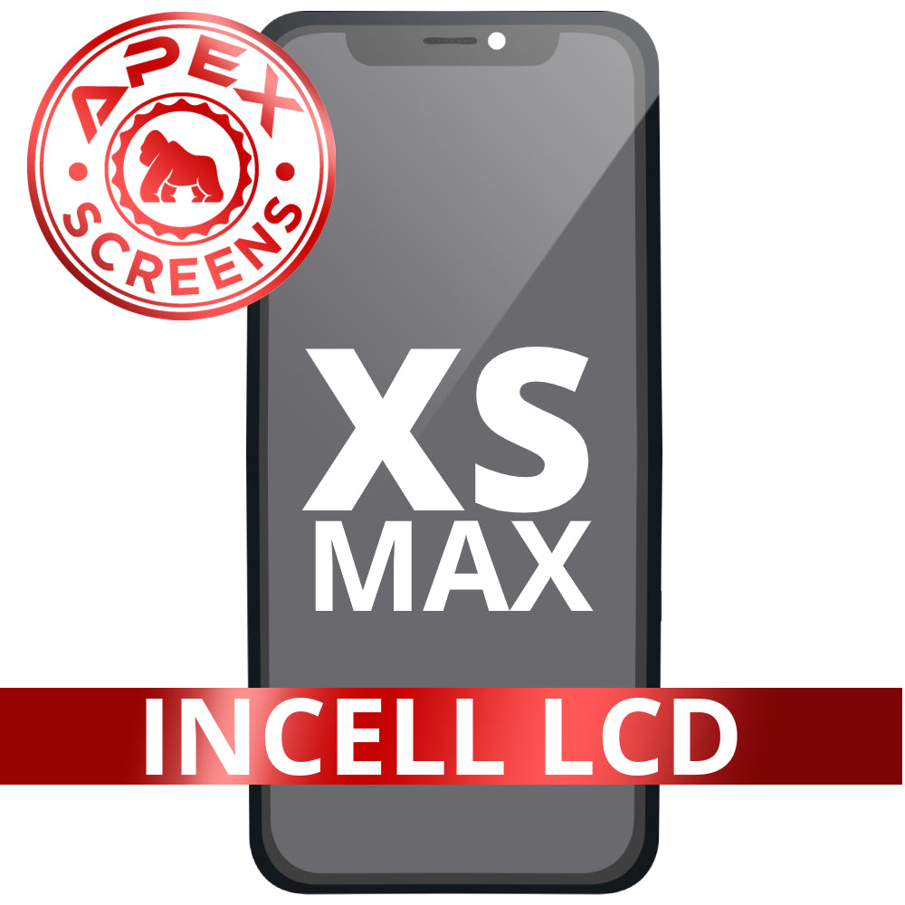Incell LCD and Touch Screen Digitizer for iPhone XS Max - (APEX)
