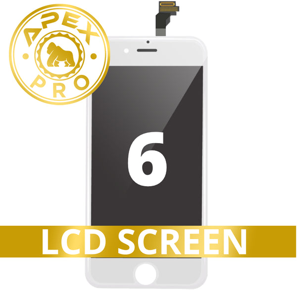LCD and Touch Screen Digitizer for iPhone 6 - White (FOG/Premium)