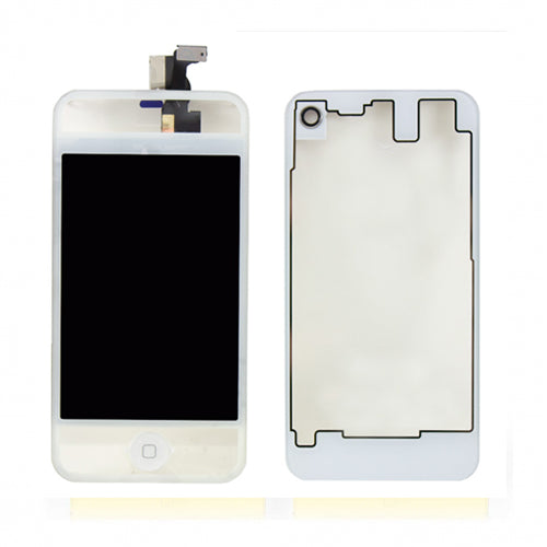 LCD and Digitizer Assembly for CDMA iPhone 4 Full Set Clear White