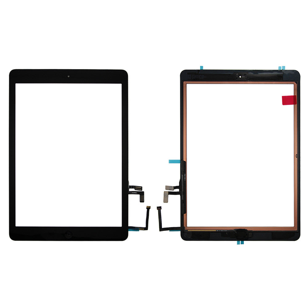 Touch Screen Digitizer With Home Button for iPad Air / iPad 5 (2017) - Black (Premium)