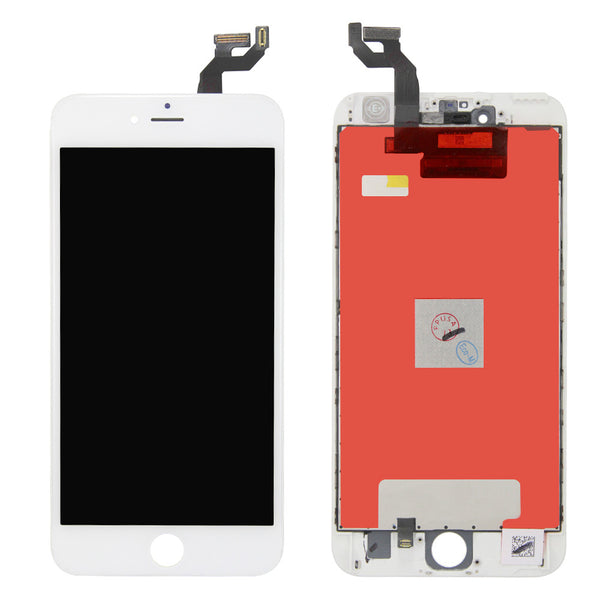 LCD and Touch Screen Digitizer for iPhone 6S Plus - White (FOG/Premium)
