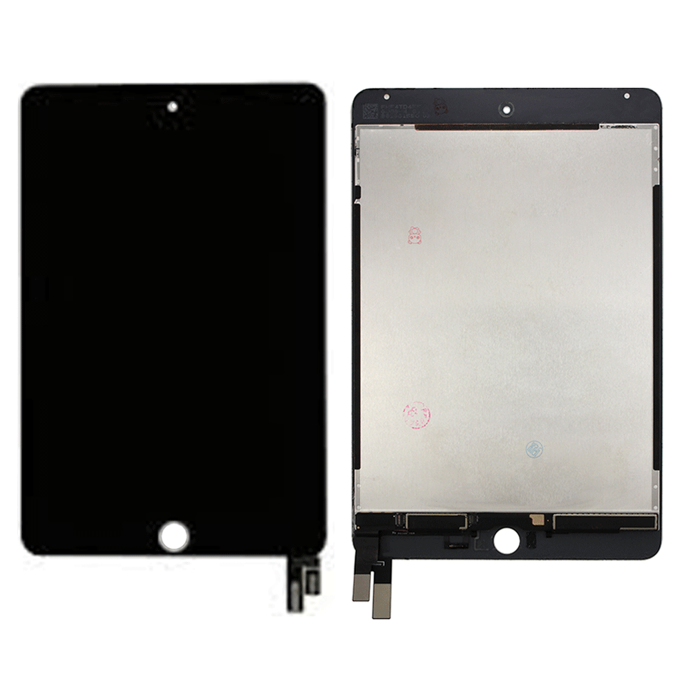 LCD and Touch Screen Digitizer for iPad Mini 4 (Sleep/Wake Sensor Flex Pre-Installed) - Black (Standard)