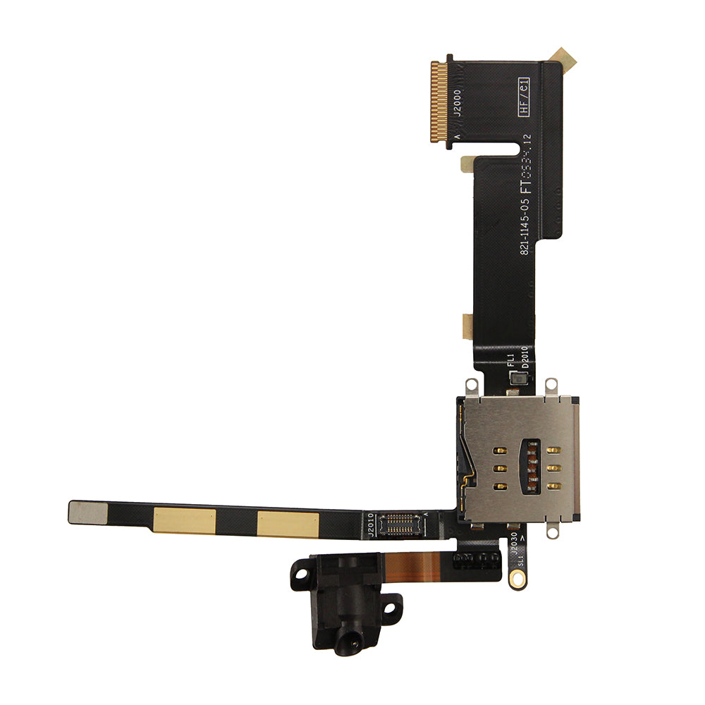 Audio Headphone Jack Flex Cable GSM Version for iPad 2