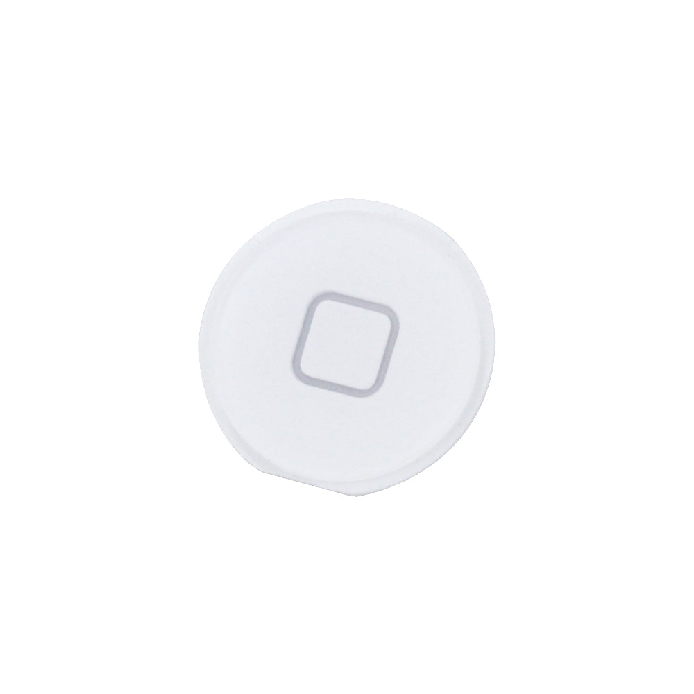 Home Button for iPad 2 3 4 White