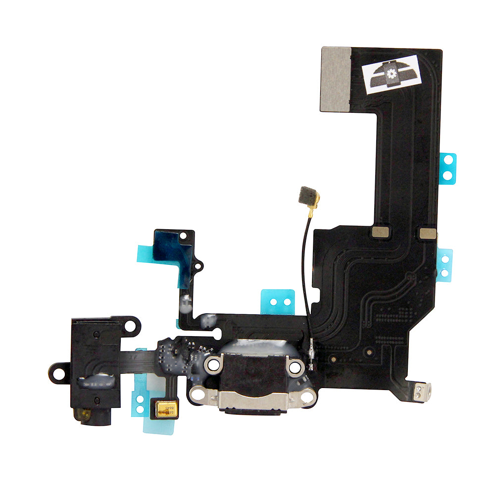 Charging Port and Headphone Jack Flex Assembly for iPhone 5c (Premium)