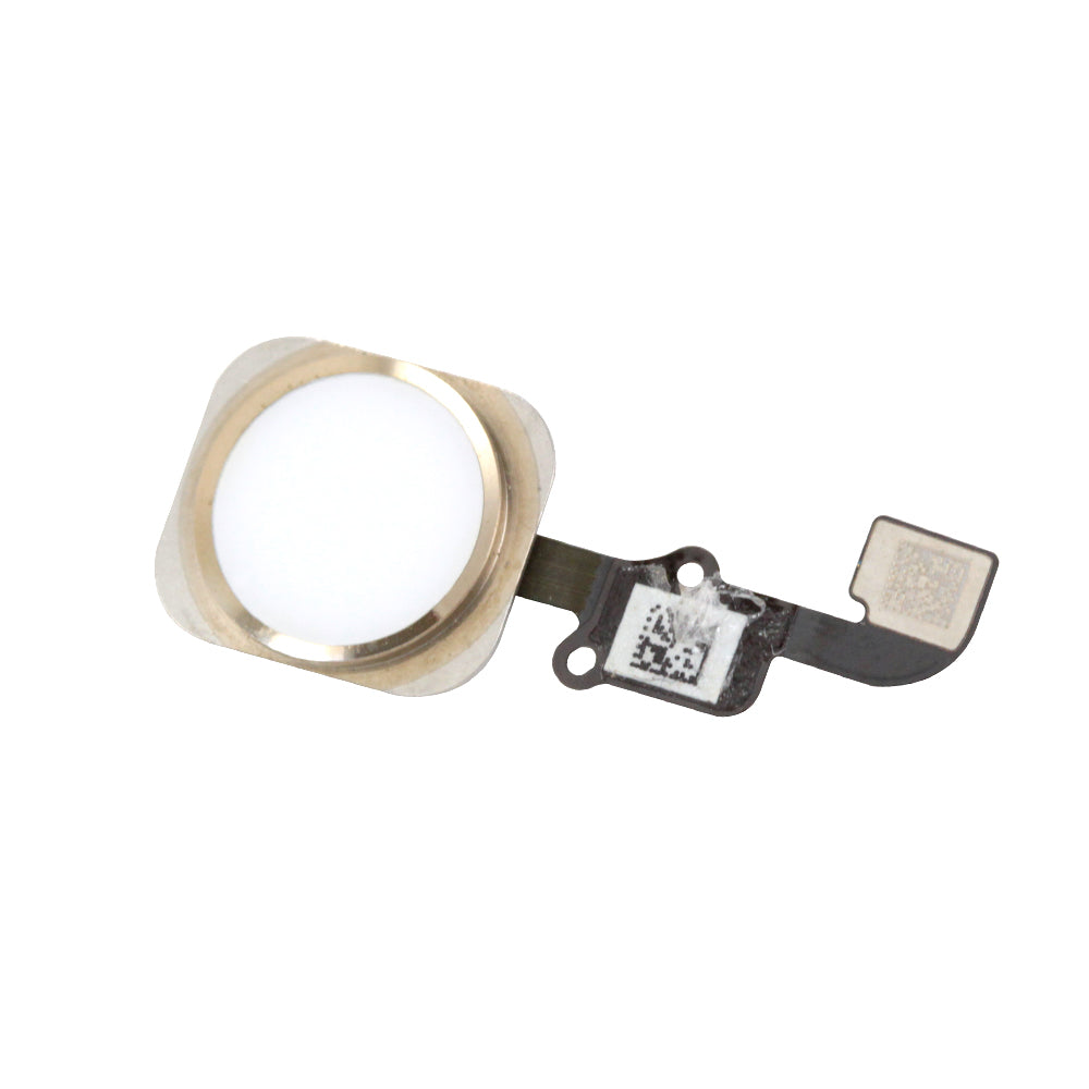 Home Button Assembly for iPhone 6 & 6 Plus White / Gold