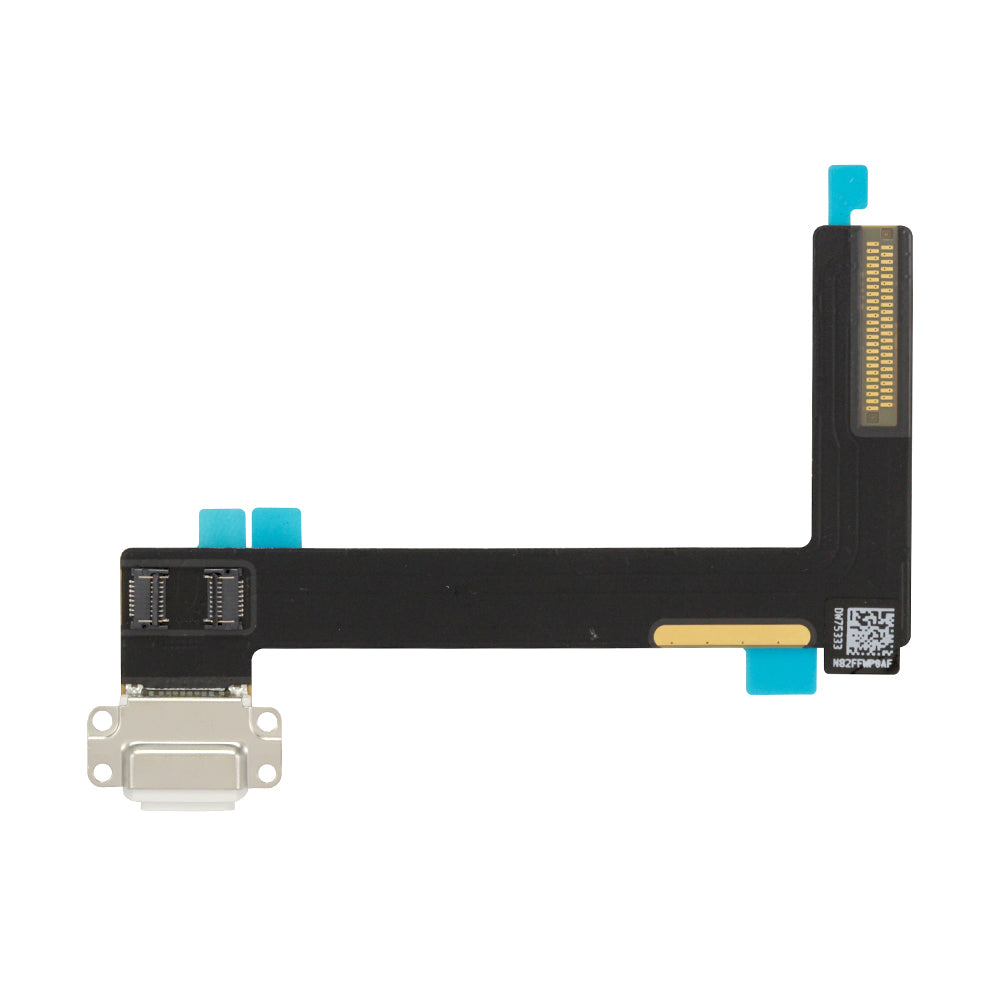Charging Port with Flex Cable for iPad Air 2 - White (OEM)