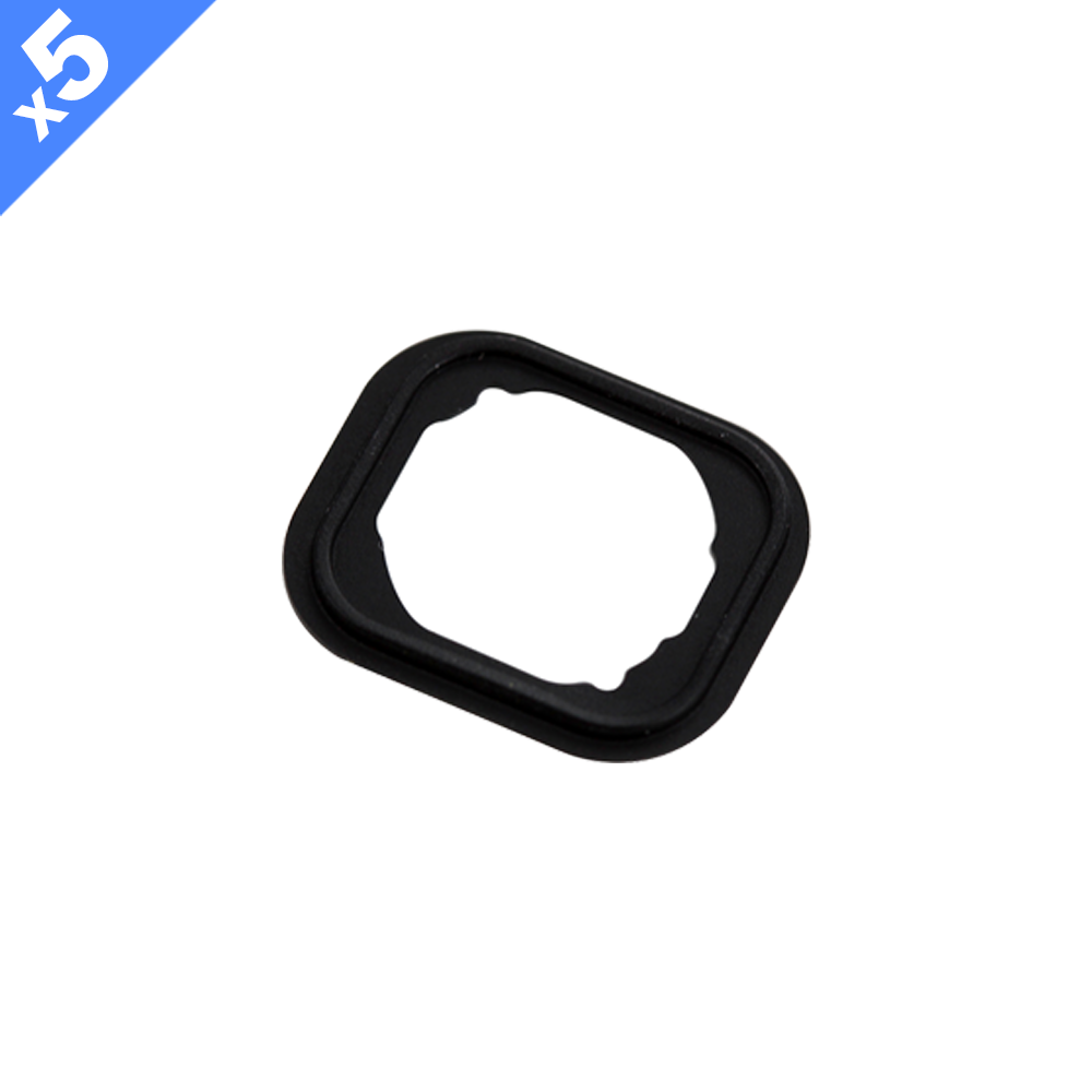 Home Button Rubber Gasket for iPhone 6 and 6 Plus (Pack of 5)