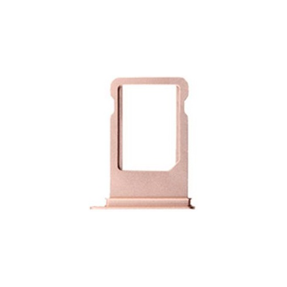 Sim Card Tray for iPhone 7- Rose Gold - (OEM)