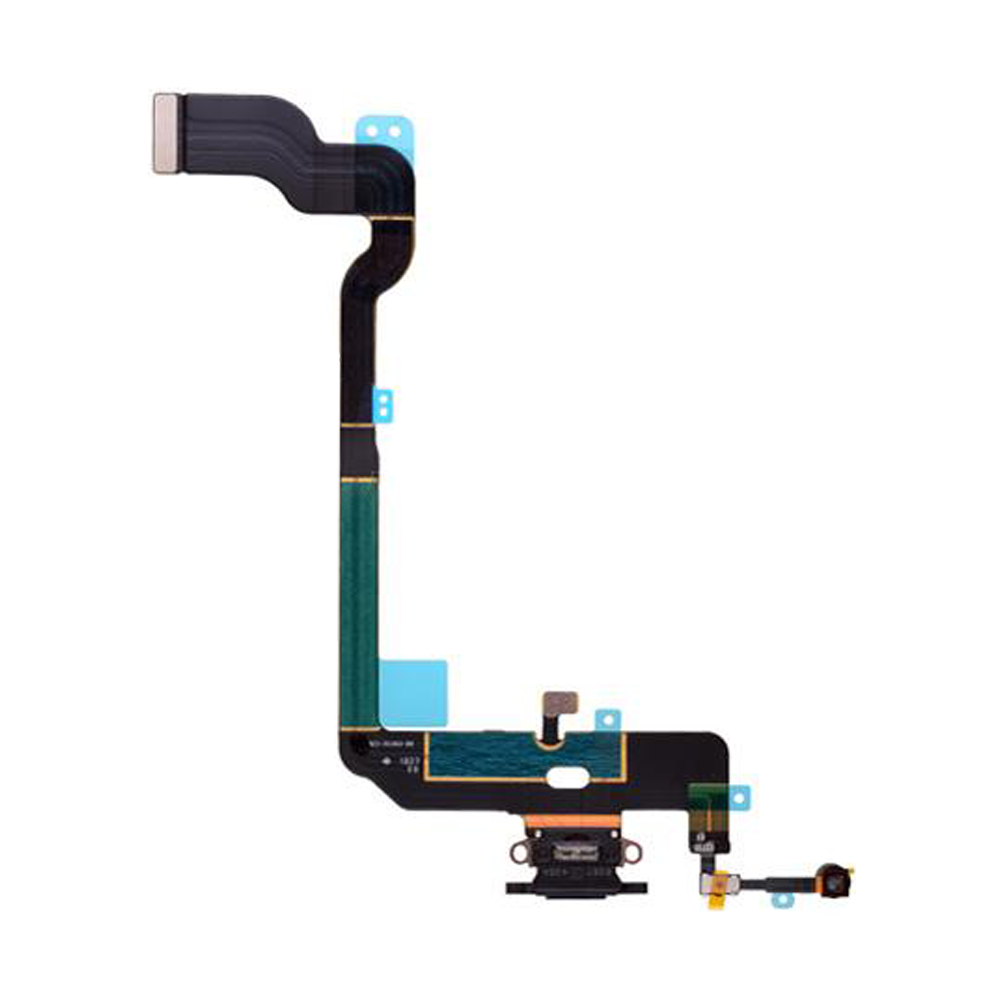 Charging Port Flex Cable for iPhone XS - Black