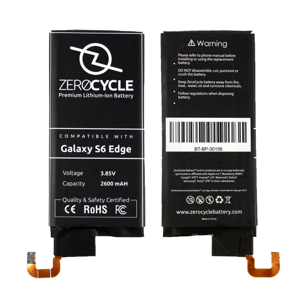 BinTEK Battery for Samsung Galaxy S6 Edge 2600mAH Li-Polymer Premium
