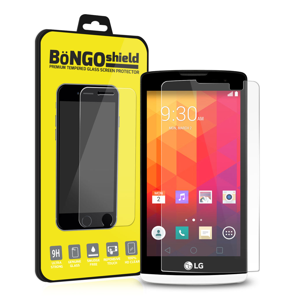 Bongo Shield Tempered Glass Screen Protector for LG Leon