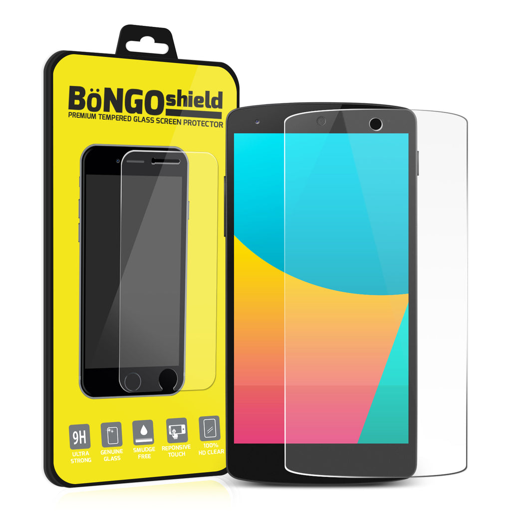 Bongo Shield Tempered Glass Screen Protector for LG Google Nexus 5