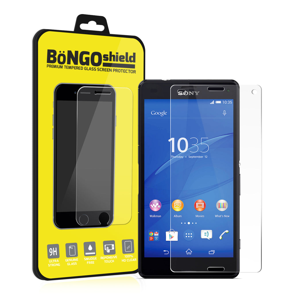 Bongo Shield Tempered Glass Screen Protector for Sony Xperia Z3 Compact
