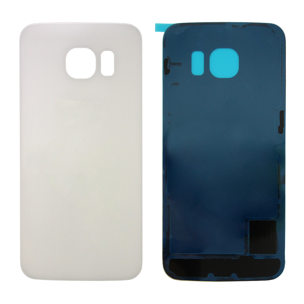 Rear Battery Cover for Samsung Galaxy S6 Edge - White Pearl