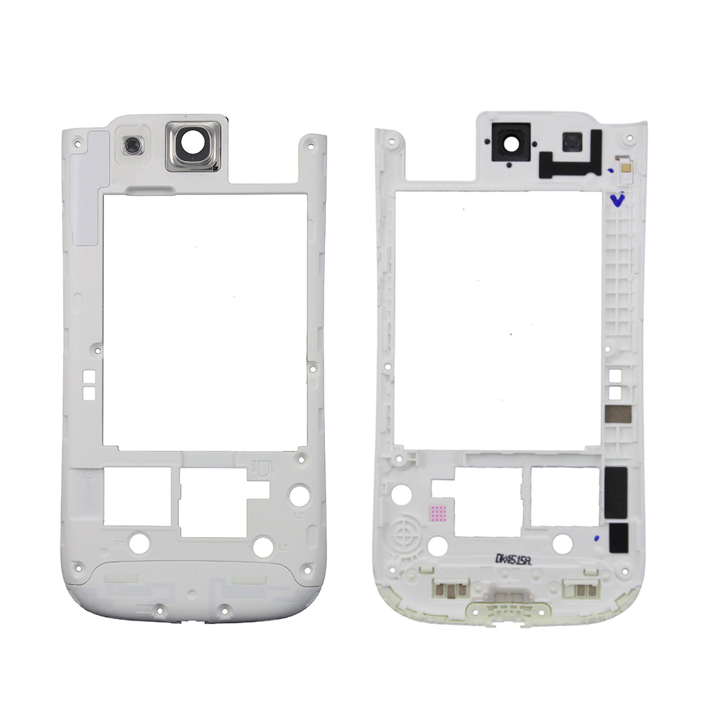 Rear Housing Frame for Samsung Galaxy S3 i535 - White