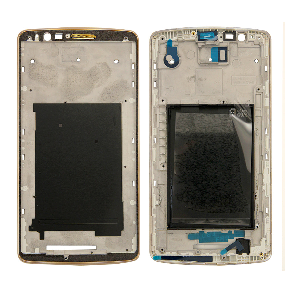 Front Bezel Frame for LG G3 - Gold