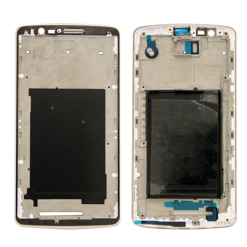 Front Bezel Frame for LG G3 - White