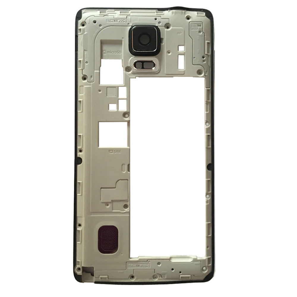 Midframe Chassis for Samsung Galaxy Note 4 N910V N910P - Black