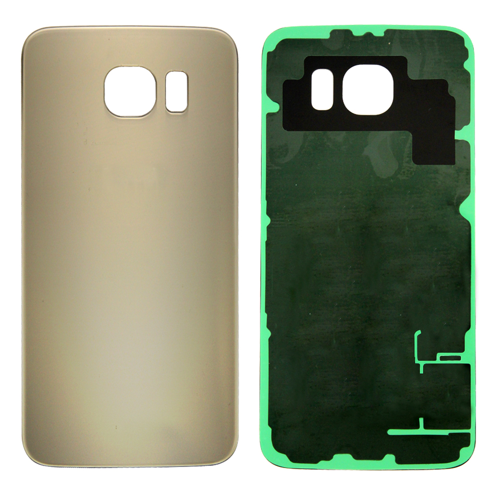 Rear Battery Cover for Samsung Galaxy S6 - Gold Platinum (Standard)
