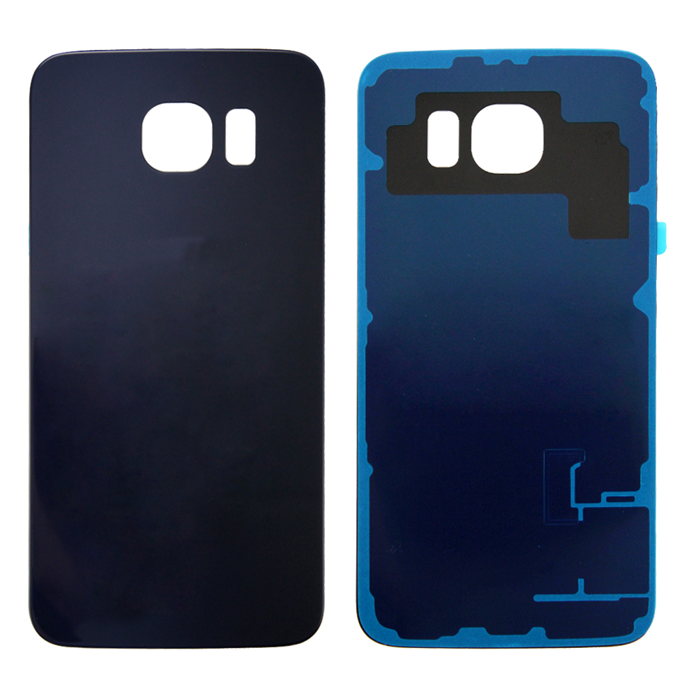 Rear Battery Cover for Samsung Galaxy S6 - Black Sapphire (Standard)