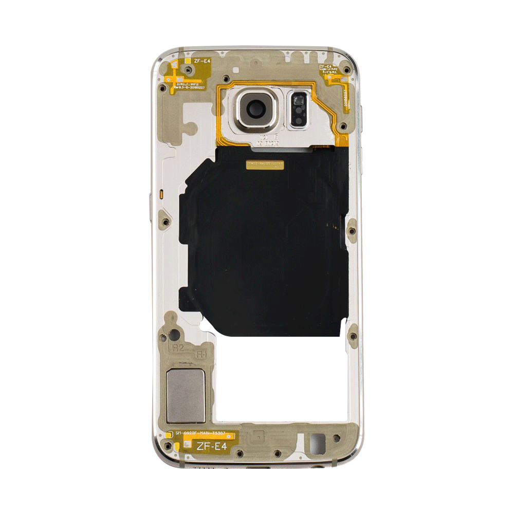 Midframe for Samsung Galaxy S6 G920V G920P - Gold