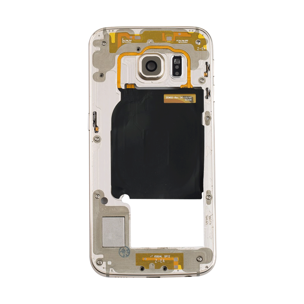 Midframe Bezel for Samsung Galaxy S6 Edge G925A G925T - Gold
