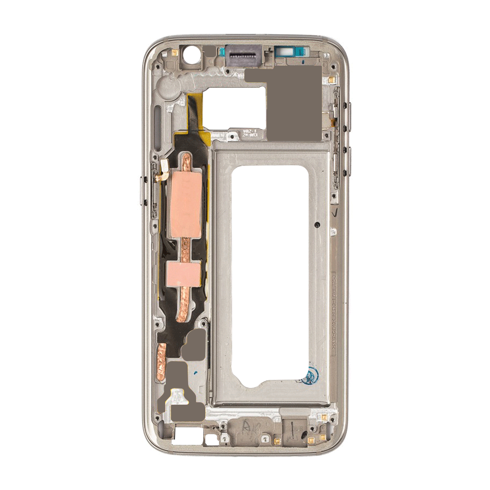 Midframe Bezel for Samsung Galaxy S7 - Gold