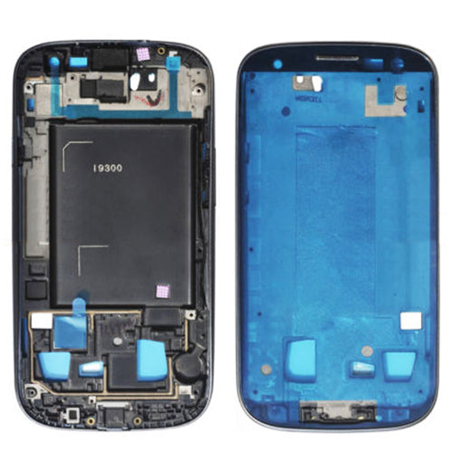 Midframe Bezel for Samsung Galaxy S3 i9300 - Blue