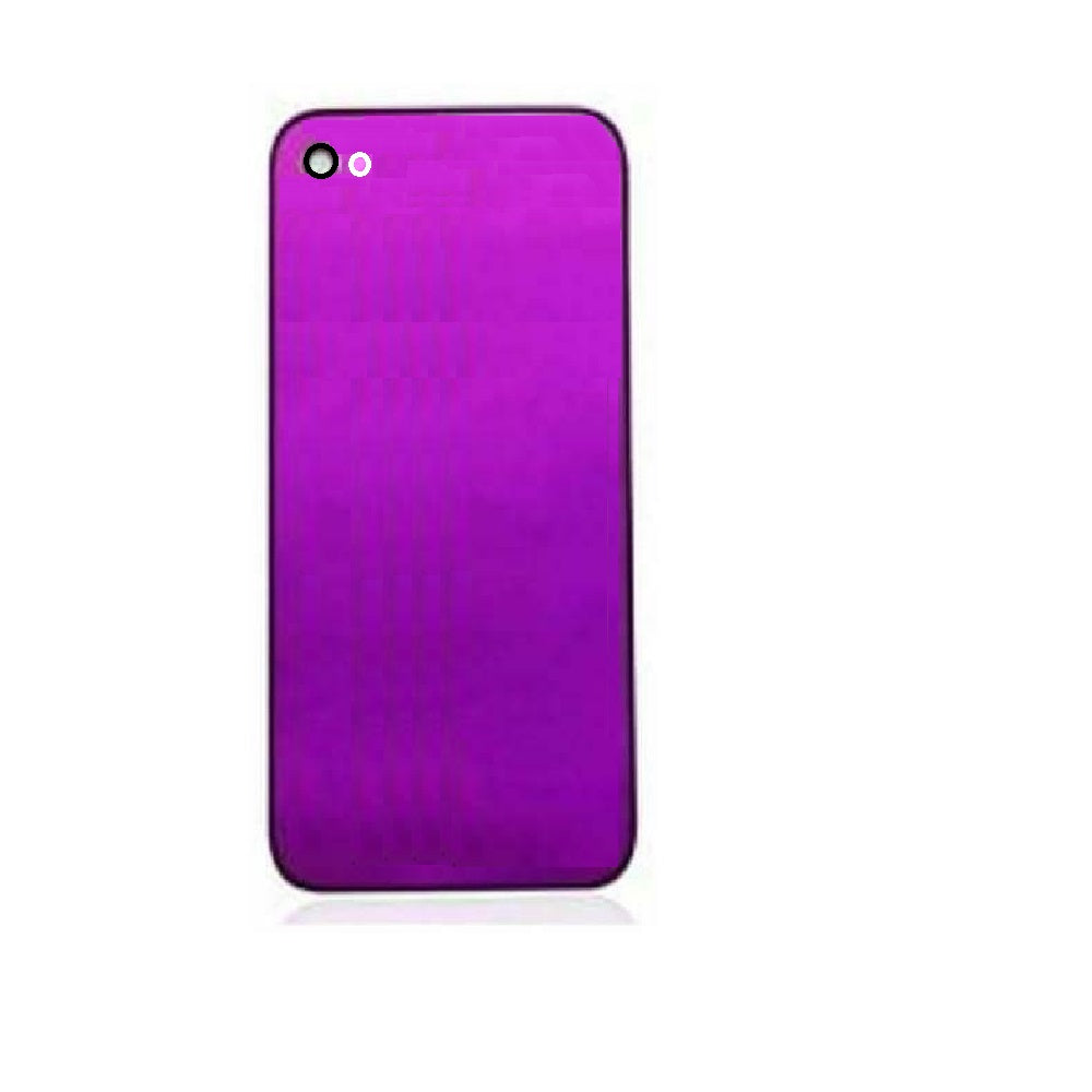 Back Glass Housing Rear Plate Cover for ATT GSM iPhone 4 Magenta