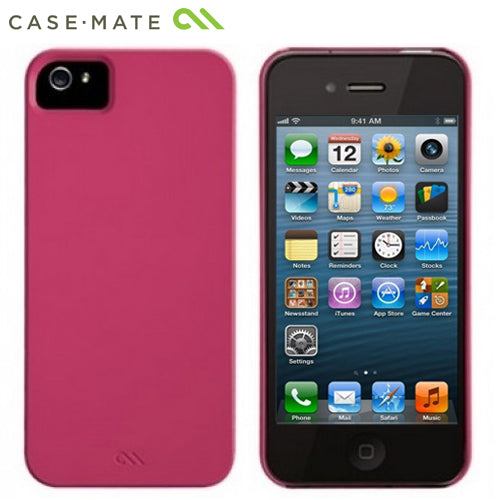 Case Mate iPhone 5 5S Case Barely There Lipstick Pink