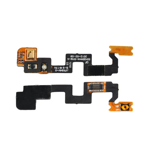 HTC One X Power On/Off Mic Flex Cable - International Model