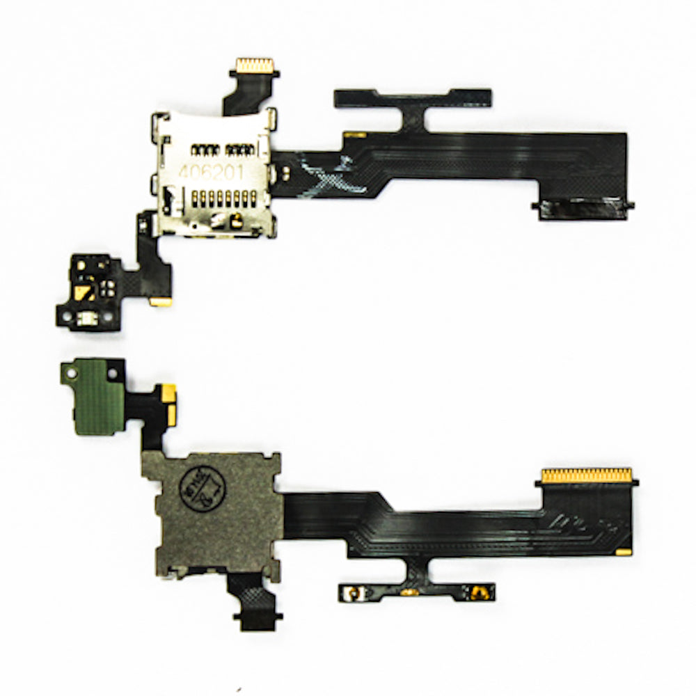 Micro SD Reader & Volume Button Flex for HTC One M8