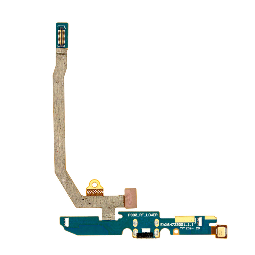 LG Optimus 4X HD P880 Charging Port Mic Microphone Flex Cable REV 1.1
