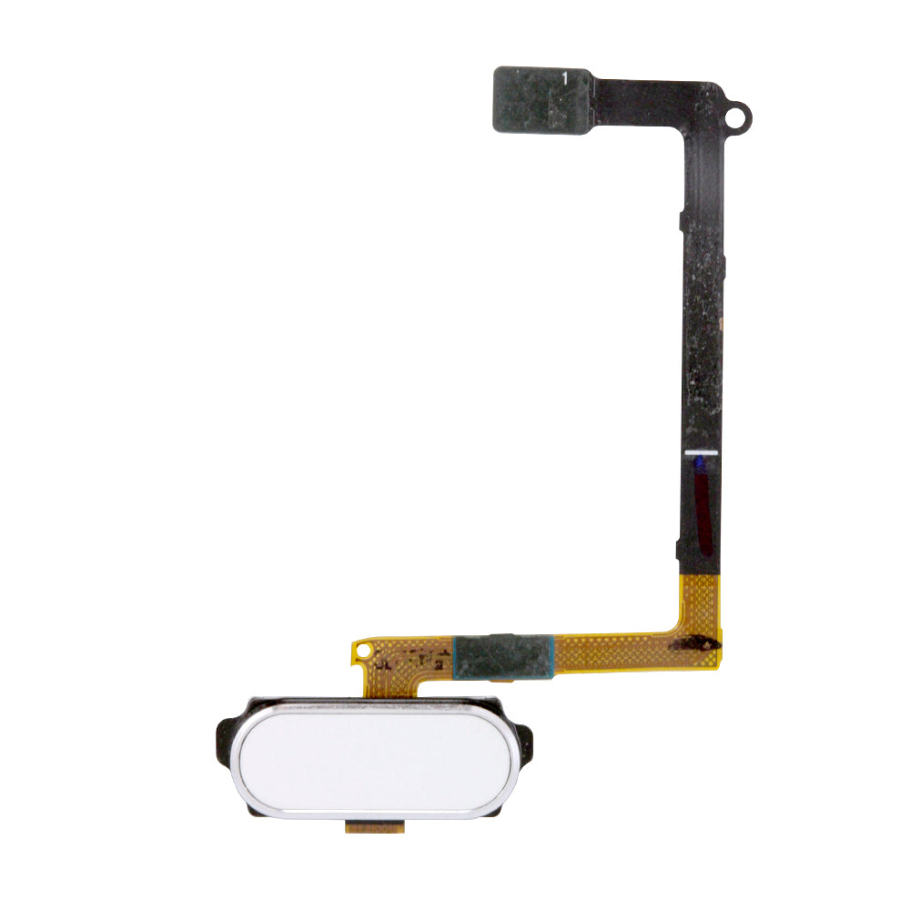 Home Button Flex Cable for Samsung Galaxy S6 - White