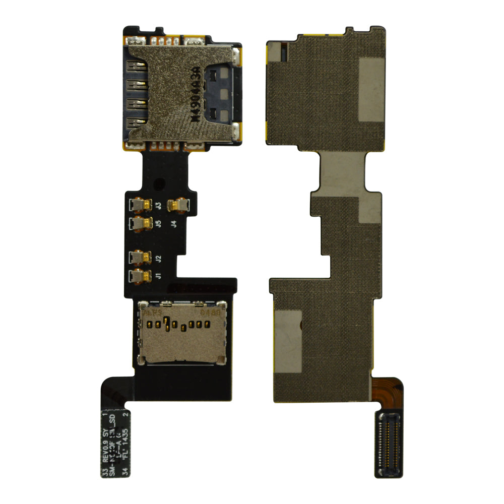 SIM SD Card Flex Cable for Samsung Galaxy Note 4 N910F