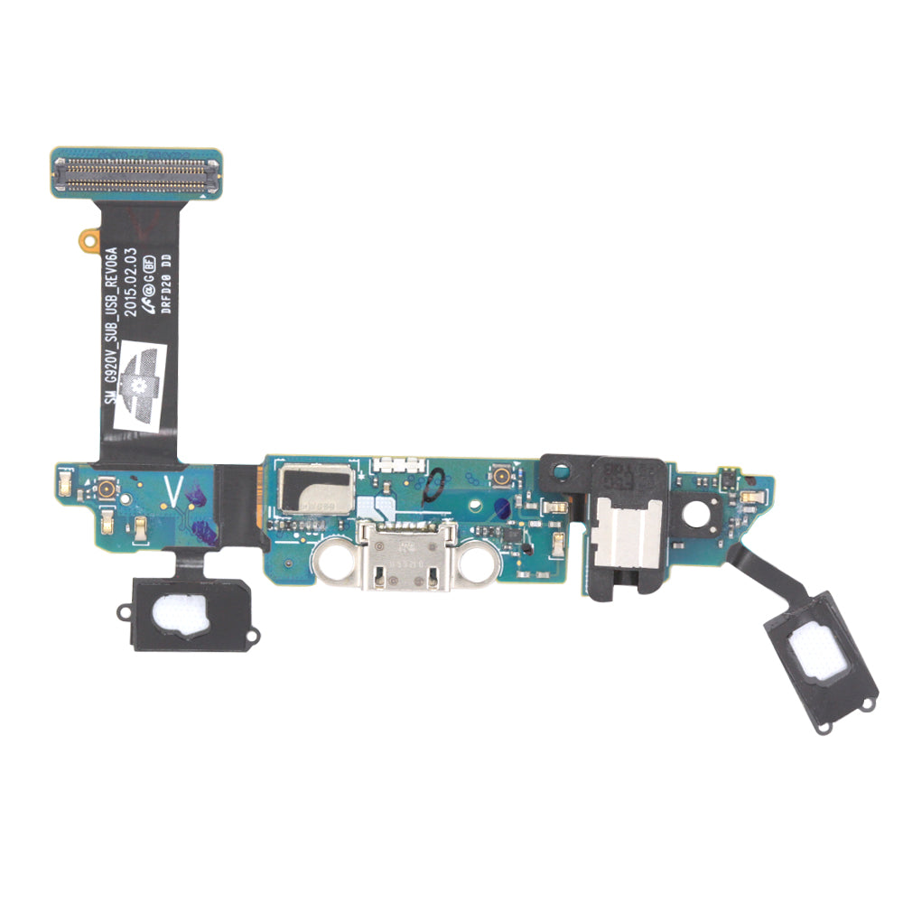 Charging Port Flex Cable for Samsung Galaxy S6 G920V - (Aftermarket Premium)