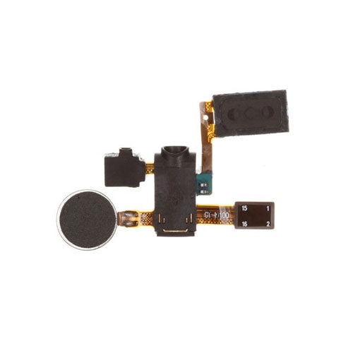 Headphone Audio Jack Vibrator Flex Cable for Samsung Galaxy S2 i9100