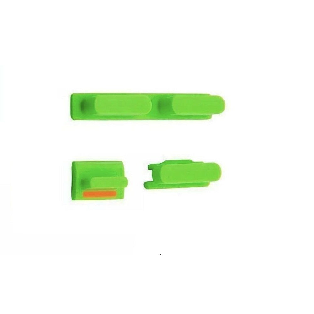 Power Button / Volume Button / Mute Button for iPhone 5c - Green