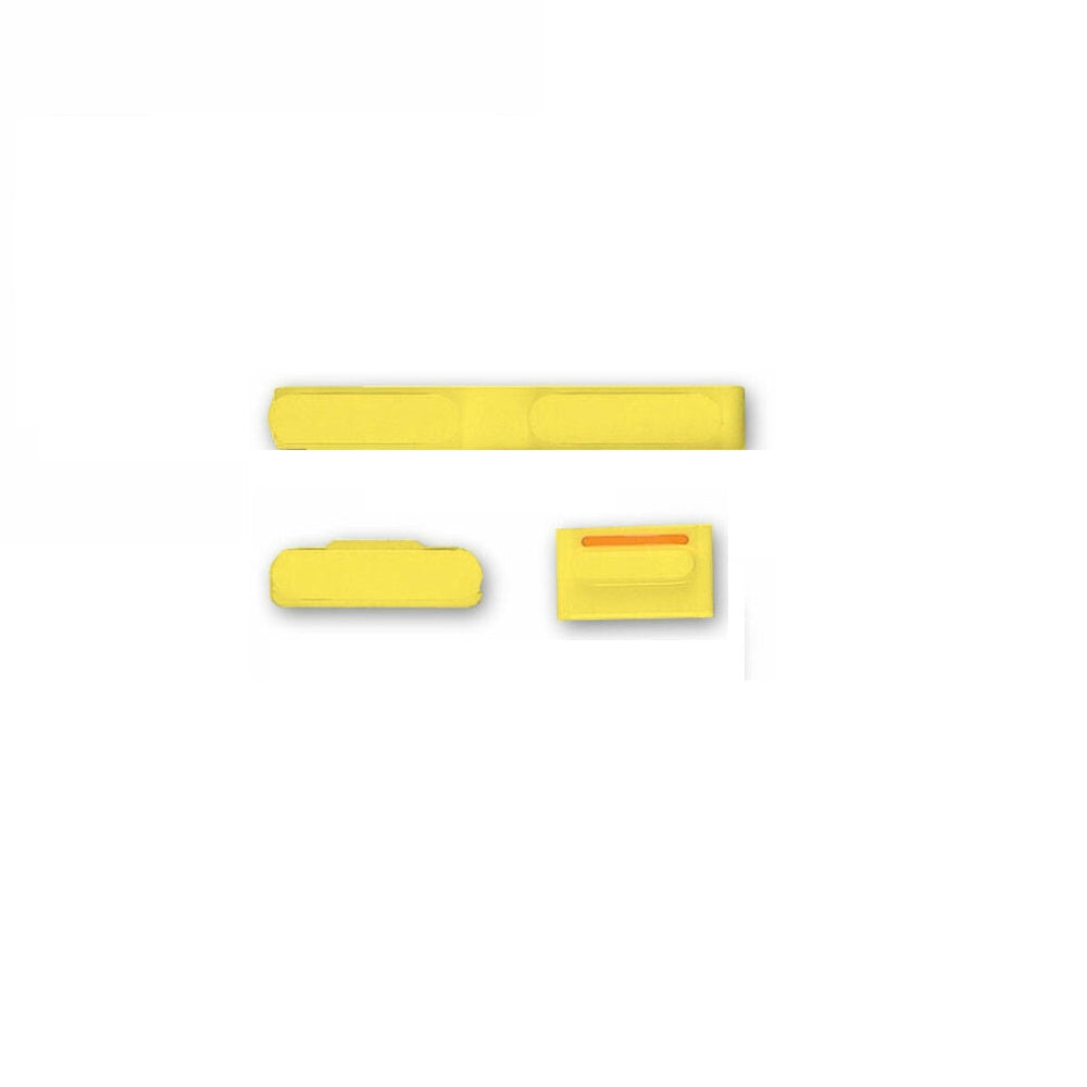 Power Button / Volume Button / Mute Button for iPhone 5c Yellow