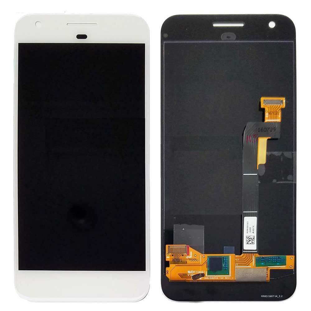 LCD and Touch Screen Digitizer for Google Pixel - White
