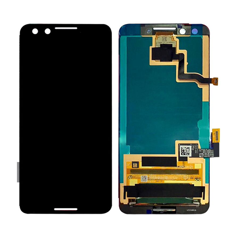 LCD and Touch Screen Digitizer without Frame for Google Pixel 3 - Black (No Logo)