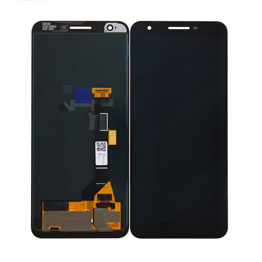LCD and Touch Screen Digitizer without Frame for Google Pixel 3A - Black (OEM)