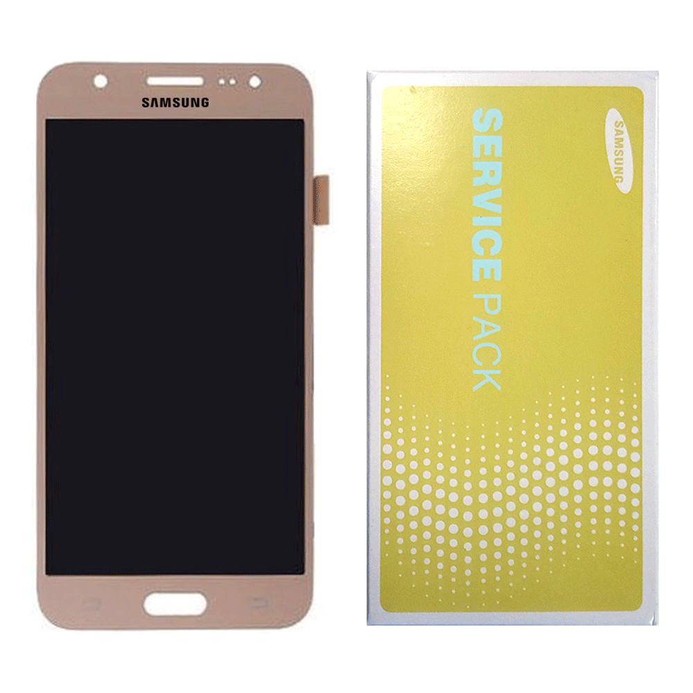 LCD and Touch Screen Digitizer for Samsung Galaxy J7 (J710) 2016 - Gold (Premium)