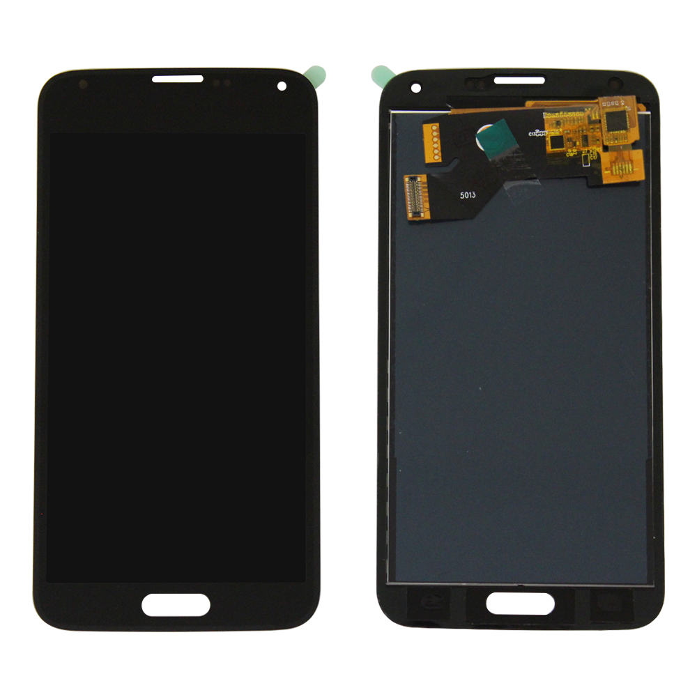 LCD and Touch Screen Digitizer for Samsung Galaxy S5 - Black (TFT Aftermarket)